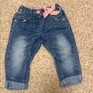 Next baby jeans with star bow
